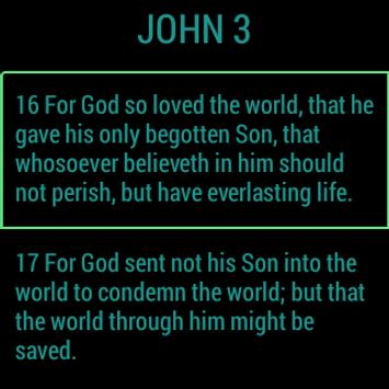 1Word Wearable - (KJV) Bible apk screenshot