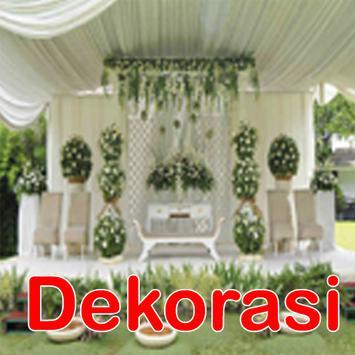 72 Dekorasi Pernikahan Desian poster
