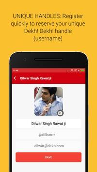 Dekh Dekh - See. Share. Chat. apk screenshot