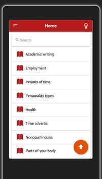 Vocabulary Lists apk screenshot