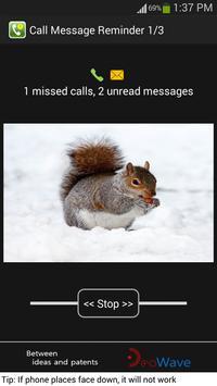 Smart Missed Call Alert apk screenshot