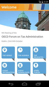 OECD- Forum Tax Administration poster