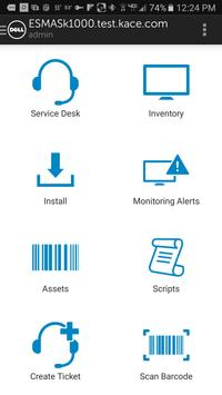 Dell KACE K1000 GO apk screenshot