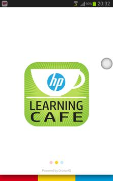 Learning Café poster