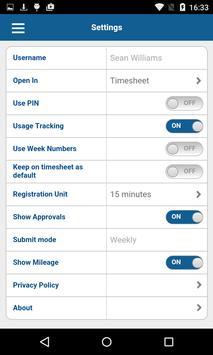 Deltek Touch for Maconomy apk screenshot