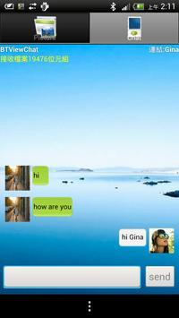 BluetoothViewChat apk screenshot