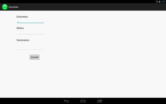 Distance Converter apk screenshot