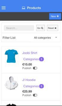 jVendor Demo apk screenshot