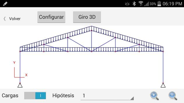Visor de estructuras apk screenshot