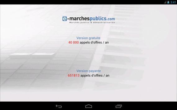 E-marchespublics.com poster
