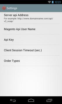 Magento Monitor apk screenshot