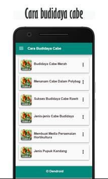 Cara Budidaya Cabe apk screenshot