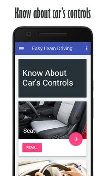 Easy Learn Driving poster