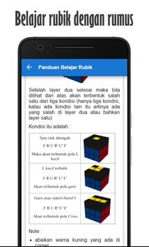 Panduan Belajar Rubik apk screenshot