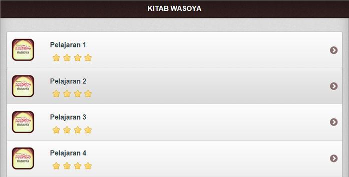 Terjemah Kitab Washoya apk screenshot