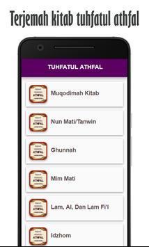 Terjemah Tuhfatul Athfal apk screenshot