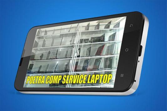 Guide service laptop app poster