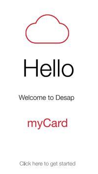myCard poster