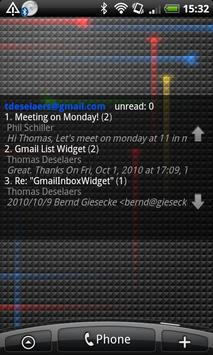 Gmail Inbox Widget poster