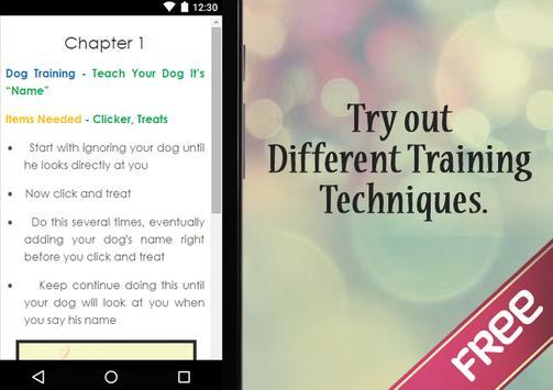 Dog Training Tips apk screenshot