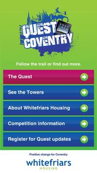 Quest Coventry poster