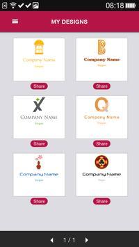 Free Logo Maker - DesignMantic apk screenshot