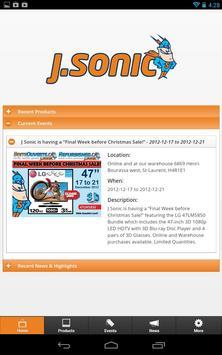 J.Sonic apk screenshot