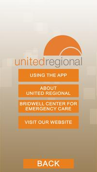 Experience United Regional poster