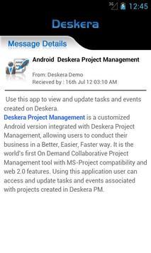 Deskera Project Management apk screenshot