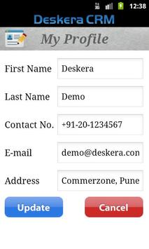 Deskera CRM apk screenshot
