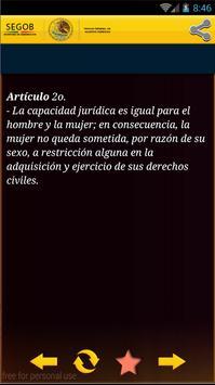 Constitución Mexicana apk screenshot