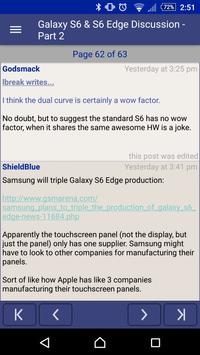 whirly - the WP forum reader apk screenshot
