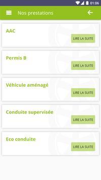 Auto-Ecole Nouvelle Conduite apk screenshot