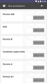 Ecole de Conduite Pilote apk screenshot