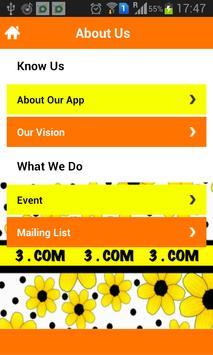 3.COM apk screenshot