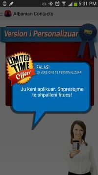 Albanian Contacts (AC) apk screenshot