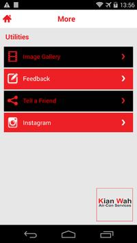Kian Wah Air-Con Services apk screenshot