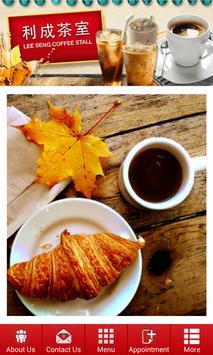 Lee Seng Coffee Stall poster