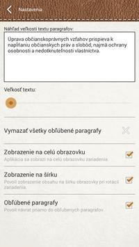 Občiansky zákonník apk screenshot