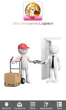 Rich Resources Logistics poster