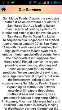 San Marco Paints Asia apk screenshot