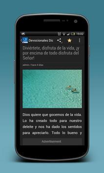 Devocionales Para Cada Dia apk screenshot
