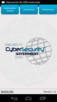 CyberSecurity 2014 poster