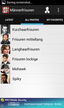 Männerfrisuren apk screenshot