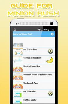 Guide for Minion Rush apk screenshot
