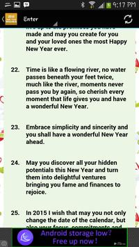 New Year Wishes 2015 apk screenshot