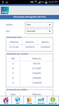 Ipsos Perú poster