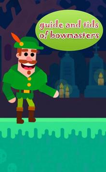 tips for bowmaster poster