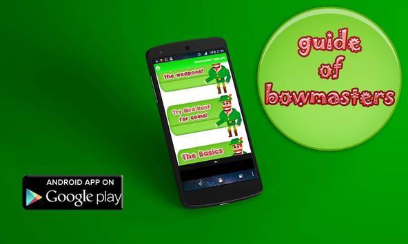 tips for bowmaster apk screenshot