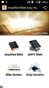Amplified Bible Easy Version poster